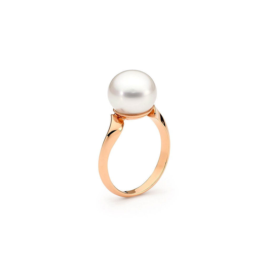fenasy item natural pearl silver ring freshwater for jewelry ruby women rings love