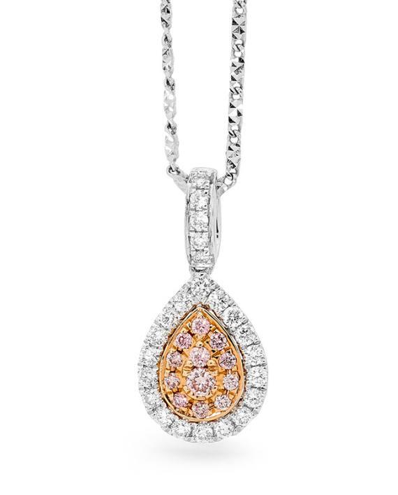 Anastasia's Pool Diamond Pendant