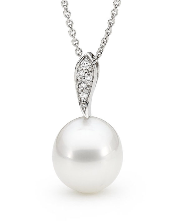 pendant jewerly high quality necklace south golden ys yellow sea pearl new gold diamond item