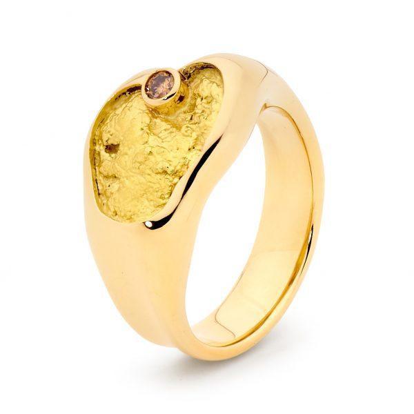 Argyle Champagne Ring