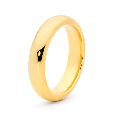 Mens Bellini Yellow Gold Ring