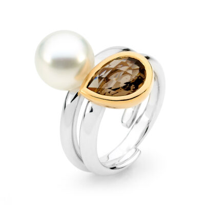 Pearl Quartz Ring